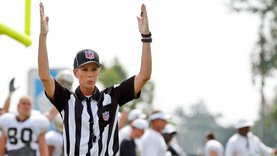The NFL's First Female Referee