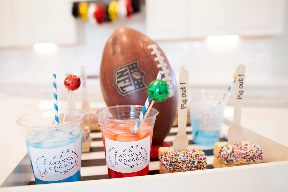 Football Bettys_Kids football party snacks_cute snacks_football