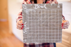 Football Party DIY: How to Make a Football Squares Game