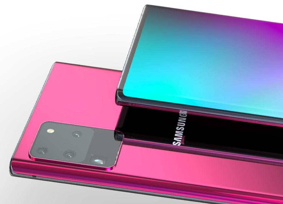galaxy note 20 official renders