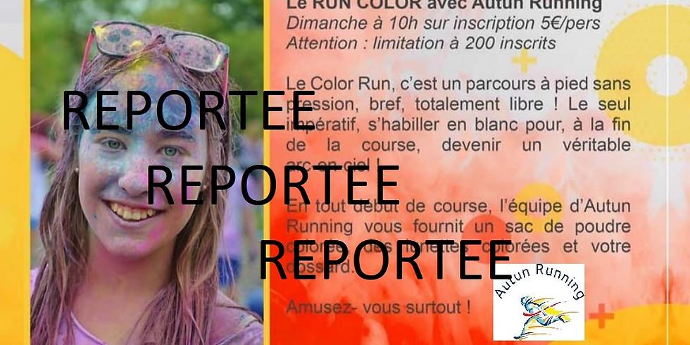 Reporté : Run Color, une course arc-en-ciel