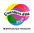 Logo Quartiers dEte PNG avec Marianne.pn