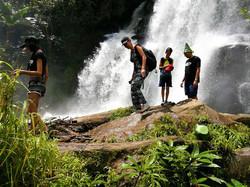Pha Dok Siaw waterfall