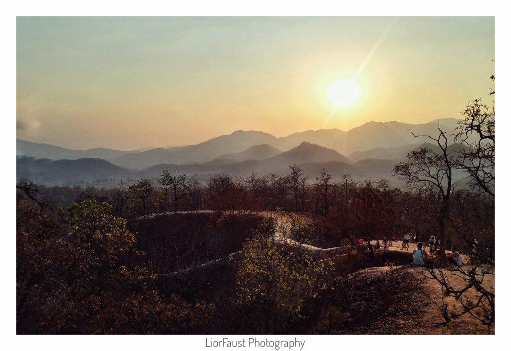 Sunset at Pai Canyon