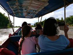 Boating along Mae Kok River