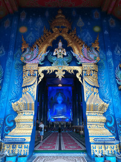 Blue Temple in Chiang rai