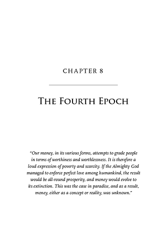 The End of the Second Epoch, Chapter 8