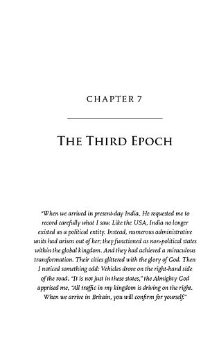 The End of the Second Epoch, Chapter 7