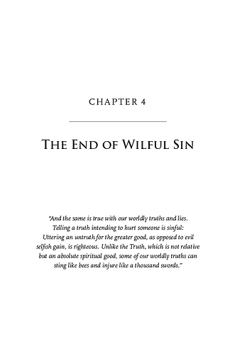 The End of the Second Epoch, Chapter 4