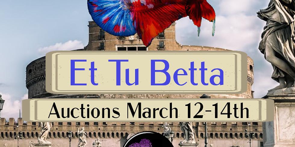 Betta & Guppy Auctions!