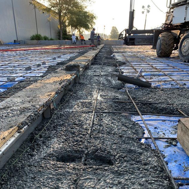 Concrete Around Drains
