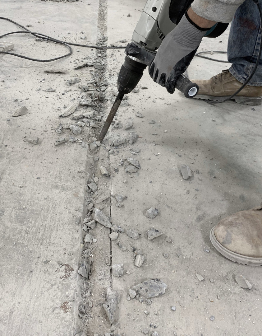 Cutting Expansion Joints