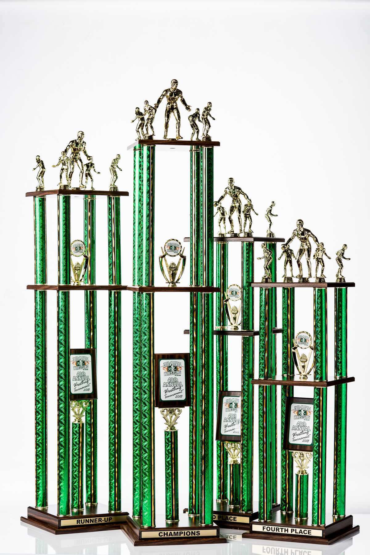 Large Custom Trophy Set