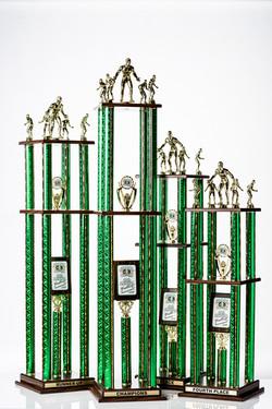 Large Custom Trophy Set