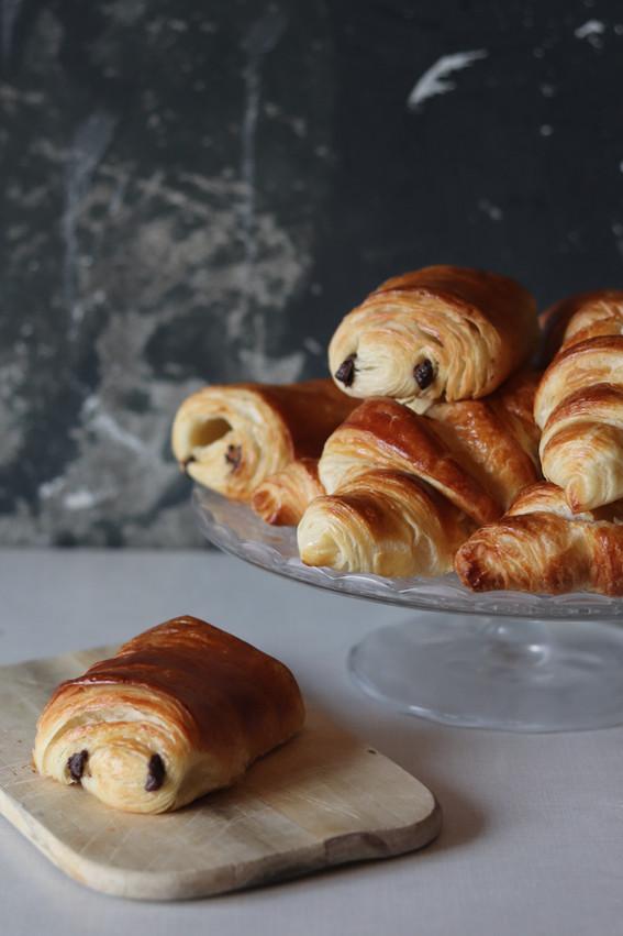 original französische Croissants