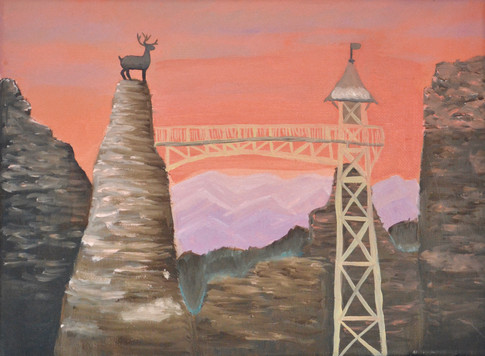 Movie Still Painting
