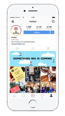 Saxbys Instagram Takeover