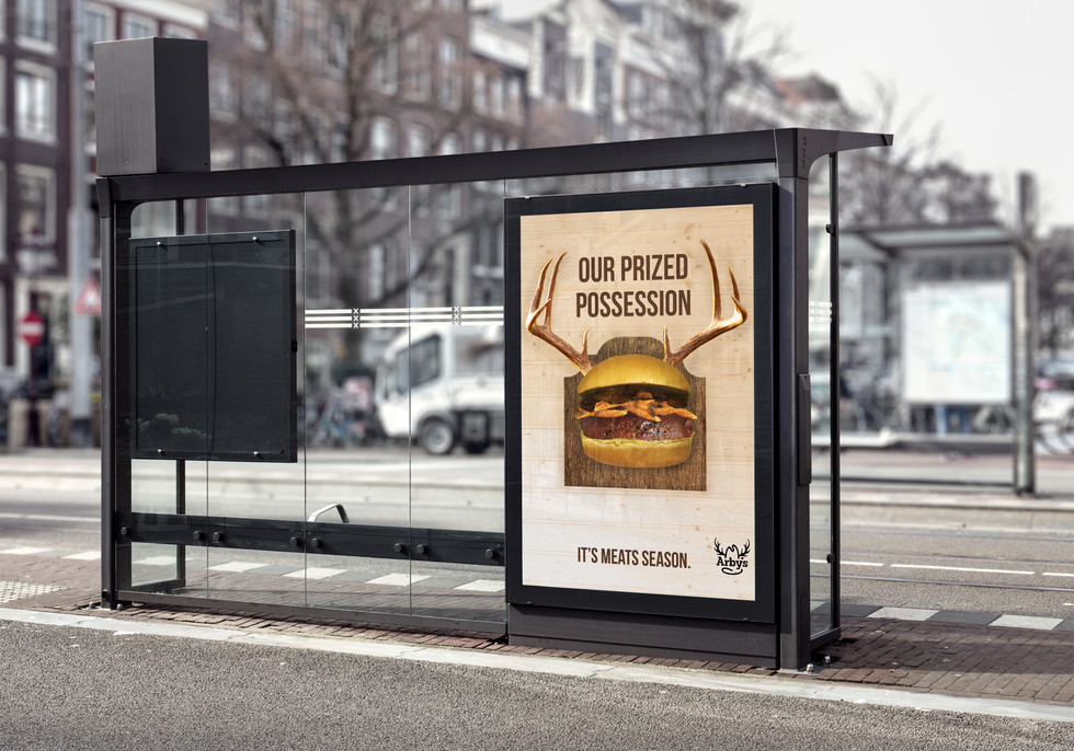 Bus Shelter Ad