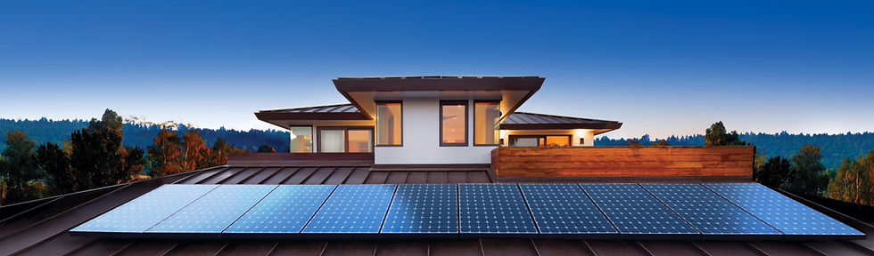 Sunpower Panels with invistmount by District Energy Washington DC