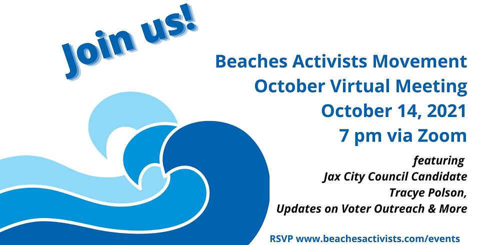 BAM October Virtual Meeting