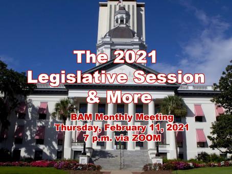 2021 Legislative Session & More