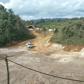 緬甸的砂場正式投入生產