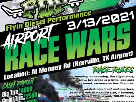 Airport RACE WARS This Saturday!