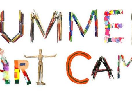 Summer Art Camp Coming up!