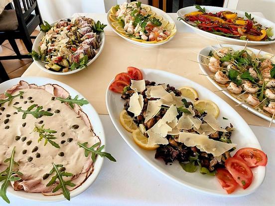 Diverse Antipasti Catering