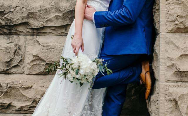 Lauren + Scott's Downtown Calgary Wedding