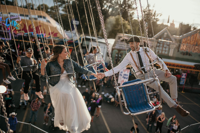Carnival Styled Wedding Shoot