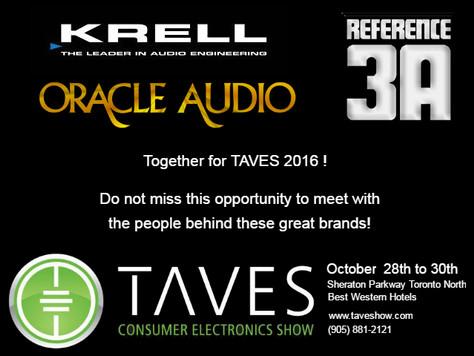 TAVES 2016 - Salon Electronique de Toronto