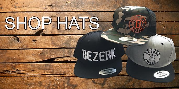 bezerk snapback hat