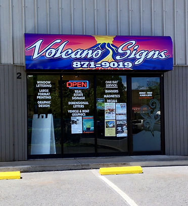 volcano signs