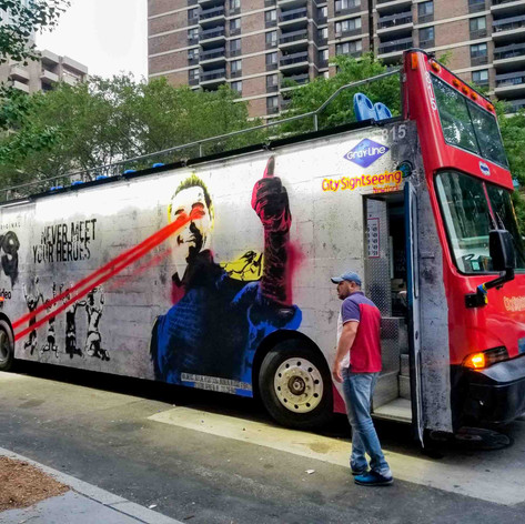 Amazon Prime - 'BOYS' on Sightseeing Bus