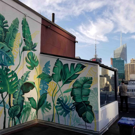 Oscar Lett | Herald Towers mural