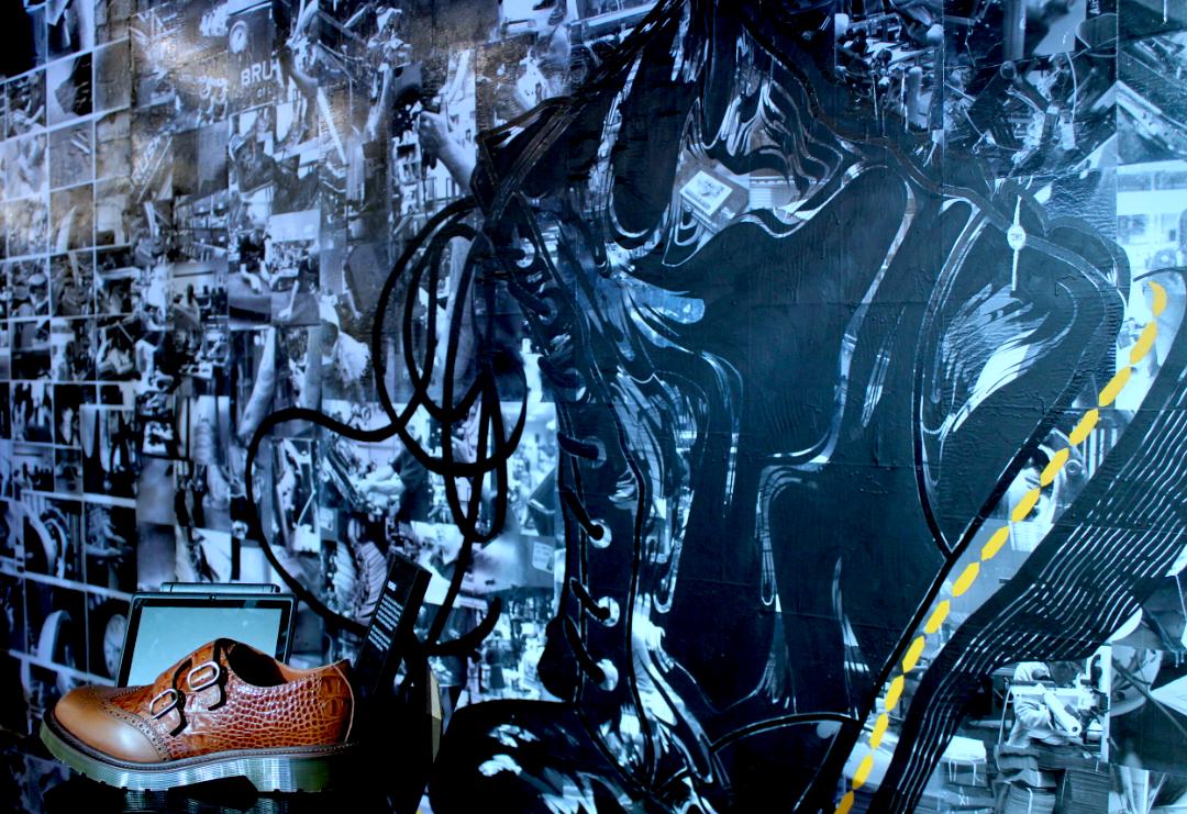 Oscar Lett | Dr Martens Mural