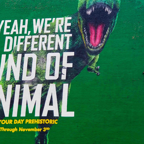 Oscar Lett | The Dinosaur Safari