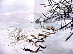 The fisherman of Amanohashidate