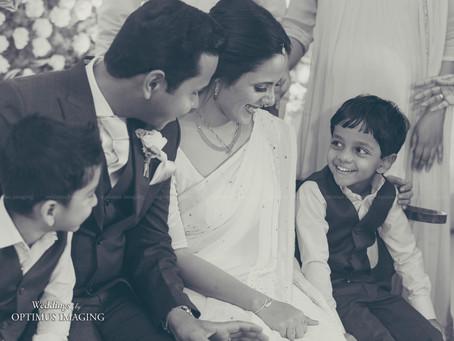 The Classic Monochromes from a Kerala Catholic Wedding