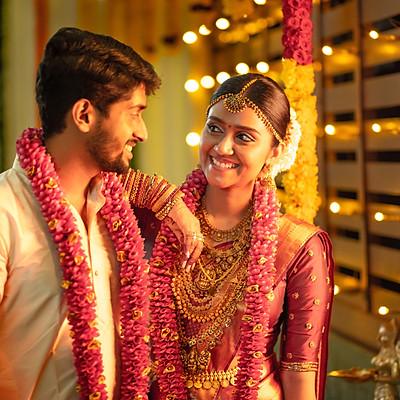 Vishal-Lekshmi Wedding