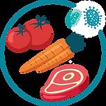 Brotes sanitarios causados por contaminantes en alimentos