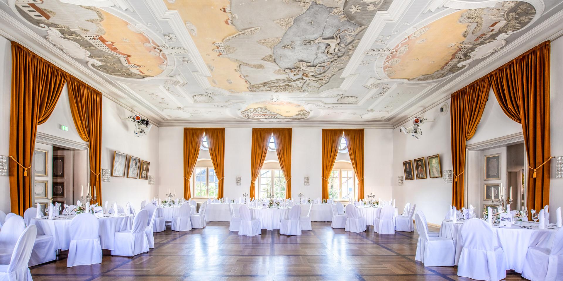 Schloss Immenstadt Eventlocation Allgäu Geburtstag Feier Firmenfeier