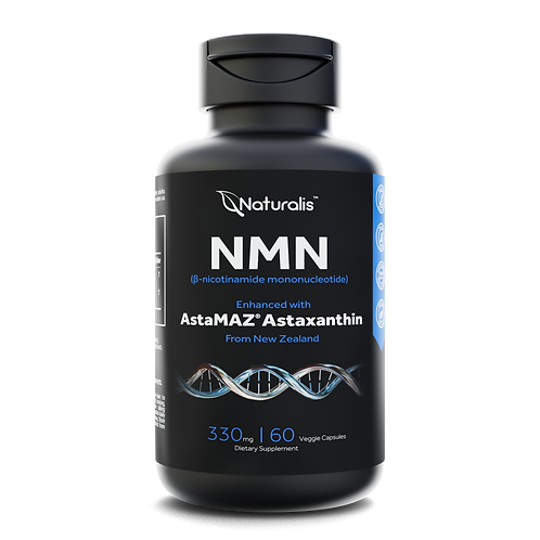 NMN 330mg with Astaxanthin for Enhanced Anti-Aging