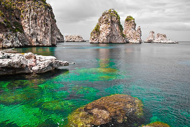 Zingaro Natural Reserve, Sicily, Italy.j
