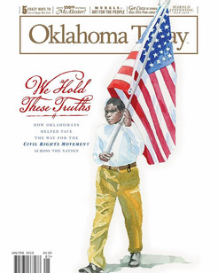Oklahoma Today Article - FREEDOM ROAD