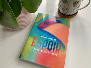 Livre guidance : ESPOIR d'Aurore Roegiers.