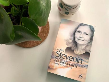 """LIVRE : """"Splendeur des âmes blessées."""" - AGNES STEVENIN"""