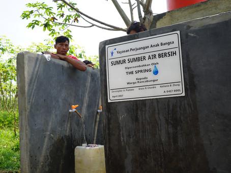 Clean Water is Here for Rancabungur Village, Bogor