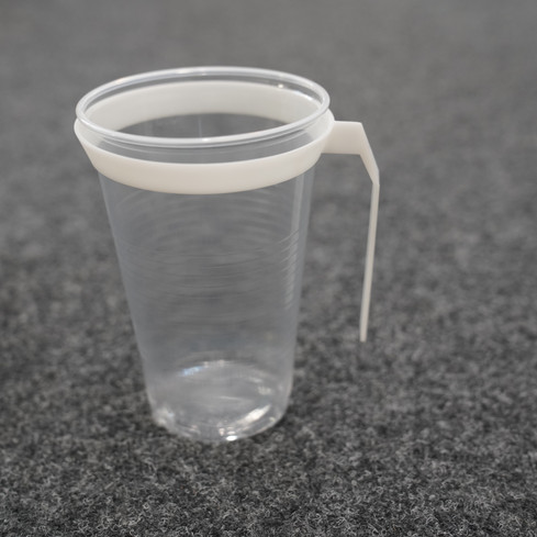 Sustainable Cup Handle for Unsustainable Cup